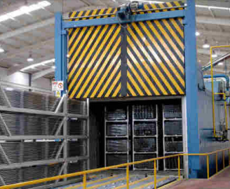 aluminium extrusion ageing furnaces