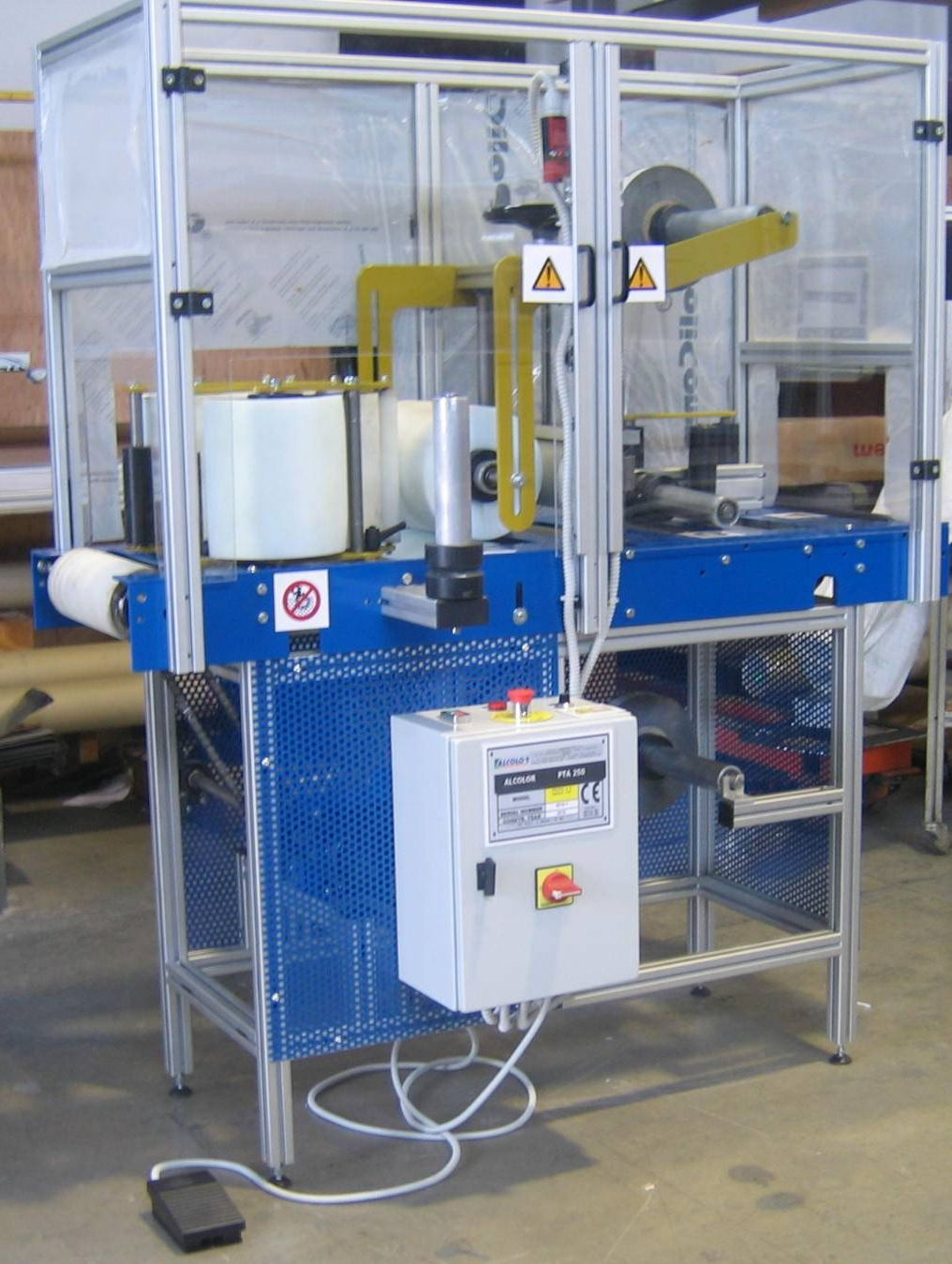 profile protection foil machine pta250